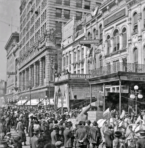TodayInNewOrleansHistory/1916March4BrokenHammerParade.jpg